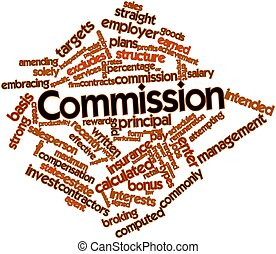 Word cloud for Commission - Abstract word cloud for...