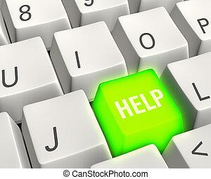 Energetic Help Key