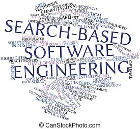 Word cloud for Search-based software engineering - Abstract...