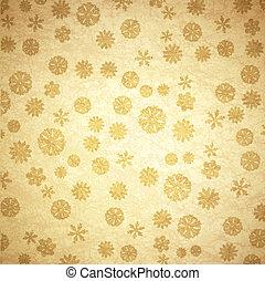 Snowflake Vintage Background
