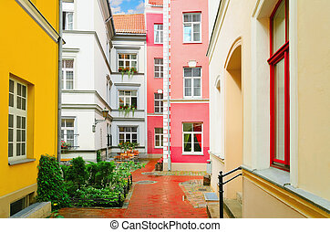 Narrow Riga Street