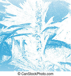 Winter Frost Background - Abstract Winter Frost Background...