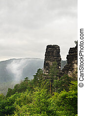 Bohemian Switzerland. Also Known As Czech Switzerland.