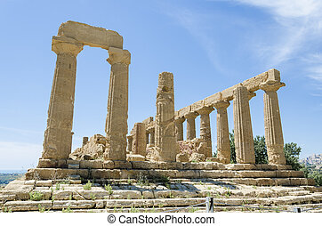 Temple of Juno, Agrigento, Italy
