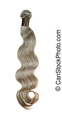 Body Wave - A Wavy hairextension spreads over the canvas