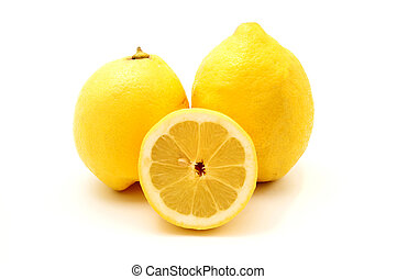 Eureka lemons - Eureka Lemons on a white background