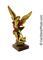 Statue of the Archangel Michael - Statue of the archangel...
