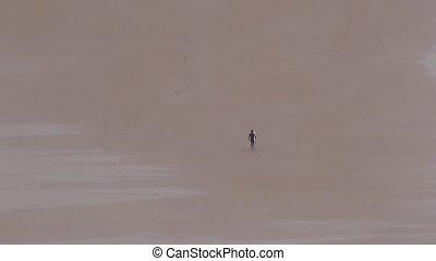 surfer on sand 30