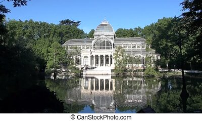 Crystal Palace Madrid 30 - ancient Crystal palace in El...