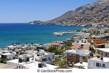 Tsoutsouros bay at Crete island in Greece
