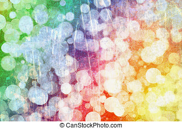 Rainbow background bokeh - Abstract background bokeh with...