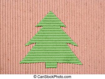 Ecology Christmas-tree background