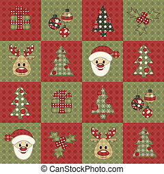 Christmas seamless pattern 7 - Christmas seamless pattern....