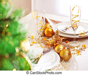 Romantic holiday dinner - Picture of romantic holiday...