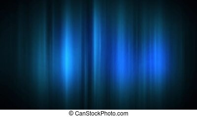 Shimmering Lines - Blue shimmering lines are continuously...
