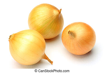 petit onion - I took three petit onions in a white...