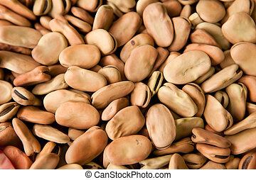 haricot beans background