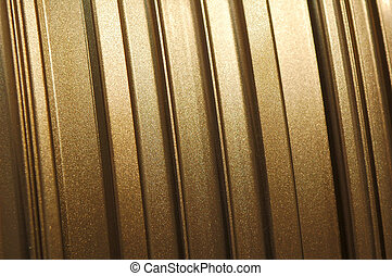 glittering metal - golden glittering industrial panel...