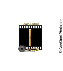 Alphabet Movie Bluff I - The letter I, in the alphabet set...