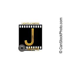 Alphabet Movie Bluff J - The letter J, in the alphabet set...