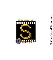 Alphabet Movie Bluff S - The letter S, in the alphabet set...