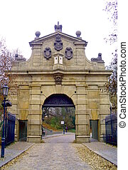 Leopold Gate, Vysehrad, Prague, Czech Republic