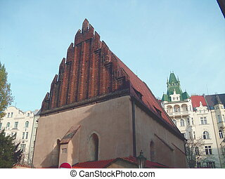 The Old New Synagogue, Prague - The Old New Synagogue in...