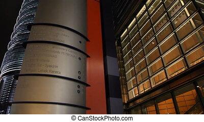 Petronas Towers Kuala Lumpur - KUALA LUMPUR - OCTOBER 26:...
