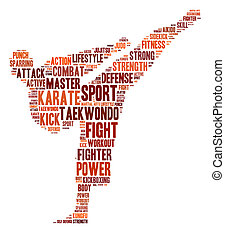 Martial arts graphics - Martial arts info-text graphics and...