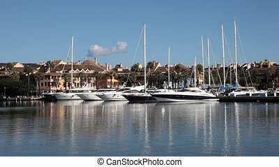 Marina in Sotogrande, Spain
