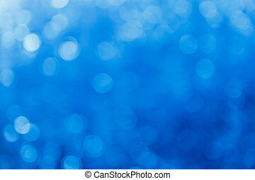 Blue bokeh background - Abstract light bokeh as background