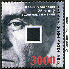 2003:, Belarus, malevich, estampilla, (1878-1935), -,...
