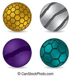 3d matte button set of four - 3d color matte button set of...