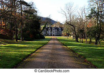 British manor house - Traditonal iconic english manor house...
