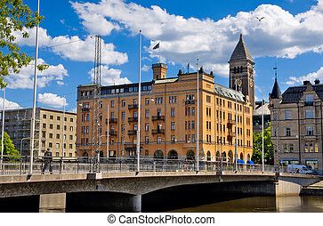 Norrkoping. Sweden - City of Norrkoping. Southern Sweden....