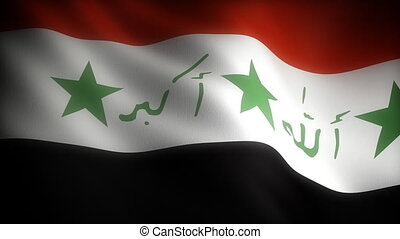 Flag of Iraq seamless