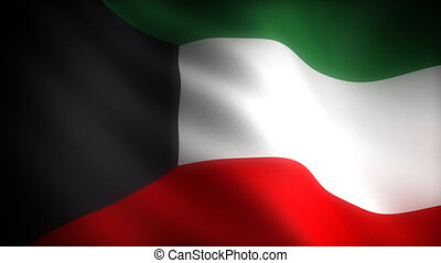 Flag of Kuwait seamless