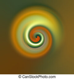 abstract swirl - An illustration of an abstract esoteric...