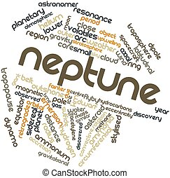 Word cloud for Neptune - Abstract word cloud for Neptune...