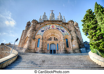 Church Barcelona HDR