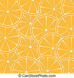 Orange fruit abstract background vector illustration