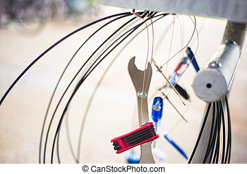 Bicycle repair tools