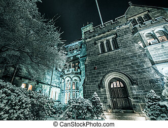 The Castle at Boston University - Boston University's Tudor...