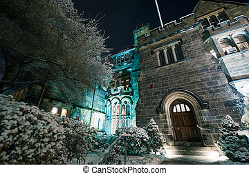 The Castle at Boston University - Boston Universitys Tudor...