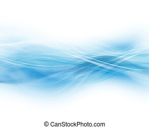 Abstract Modern Background - Blue And White Abstract Modern...