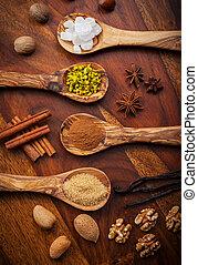 Aromatic baking ingredients