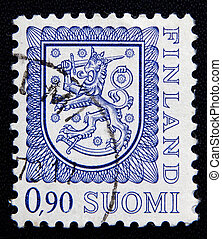 Finland stamp - FINLAND - CIRCA 1974: stamp printed by...