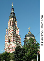 Blagoveshensky cathedral in Kharkov, Ukraine - Annunciation...