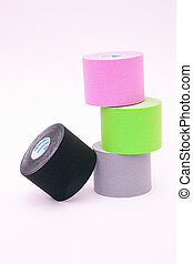 rolls of kinesio tape