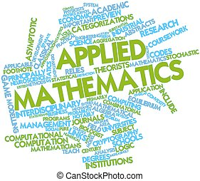 Applied mathematics - Abstract word cloud for Applied...